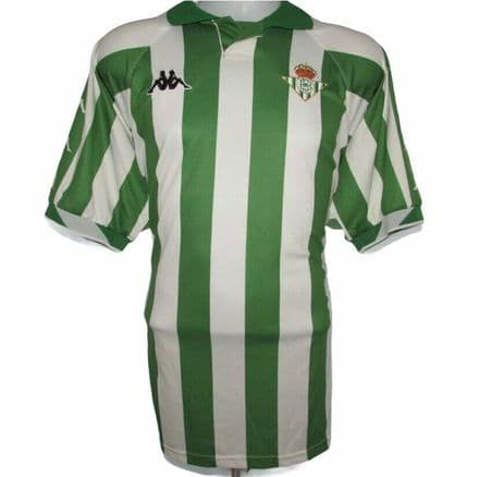 2000-2001 Real Betis Home Football Shirt, Kappa, XXL (Mint Condition)